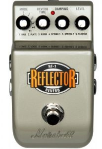 Marshall's best reverb guitar pedal