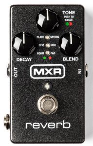 Continuing to the end of our list, this reverb pedal may pique your interest