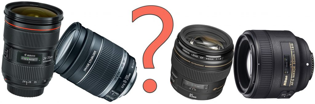 Which DSLR camera lens should I buy?