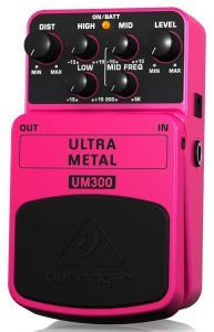 Behringer's distortion pedal for you heavy metal lovers