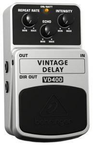A budget-friendly delay FX pedal