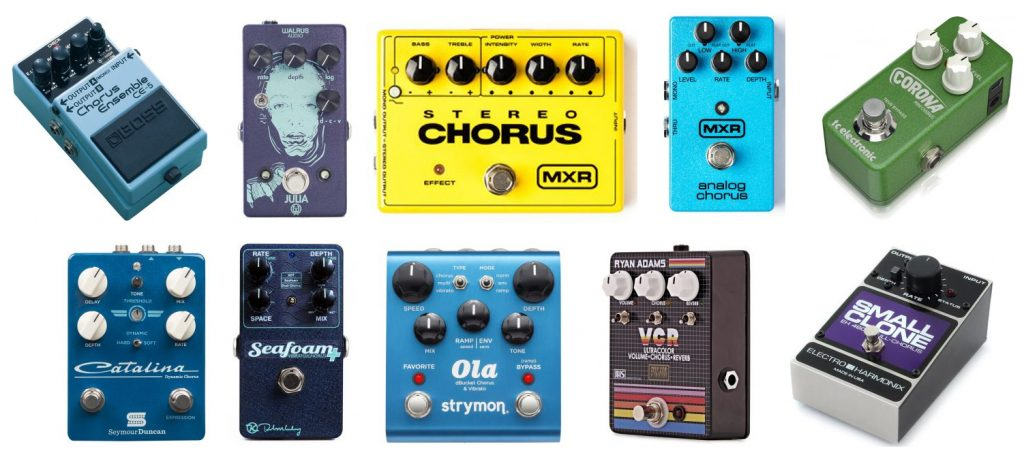 Here's our roundup of the best chorus guitar pedals