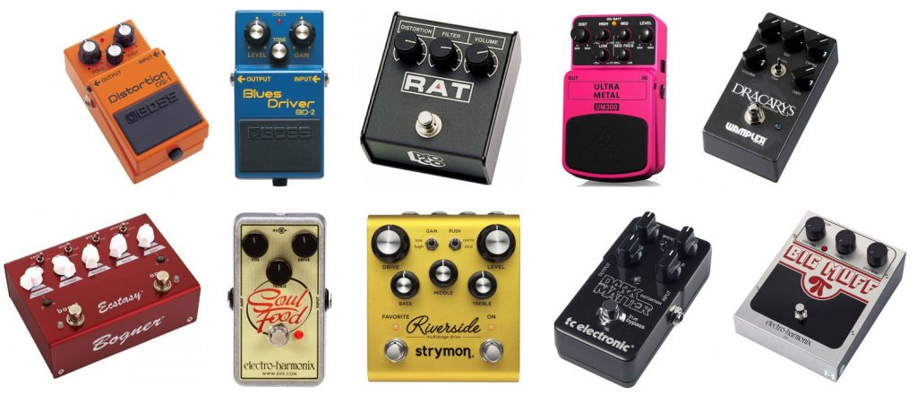 Here are some recommendations as the best distortion effects guitar pedals