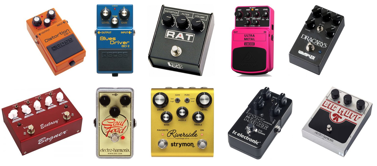 the best distortion guitar effects pedals the wire realm. Black Bedroom Furniture Sets. Home Design Ideas