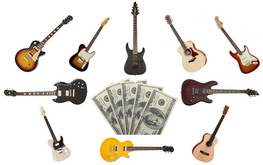 Our guide on the best guitars for under $500 budgets