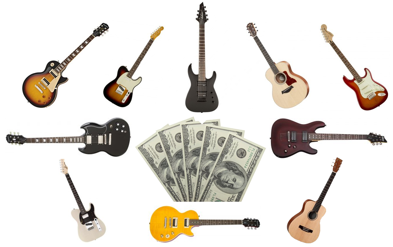 the best guitars for an under 500 budget the wire realm. Black Bedroom Furniture Sets. Home Design Ideas