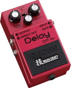 Nearing the end of our guide, here's another Boss delay guitar pedal