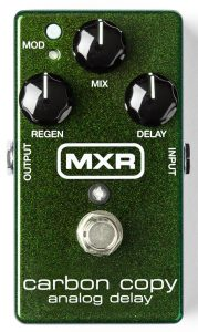 MXR's best guitar pedal with delay effects