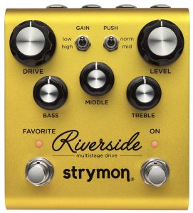 A high-end pedal here for your distortion needs