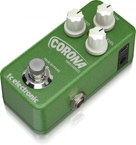Our pick as the best chorus guitar pedal