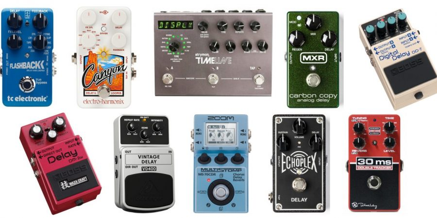 The Best Delay Effects Guitar Pedals