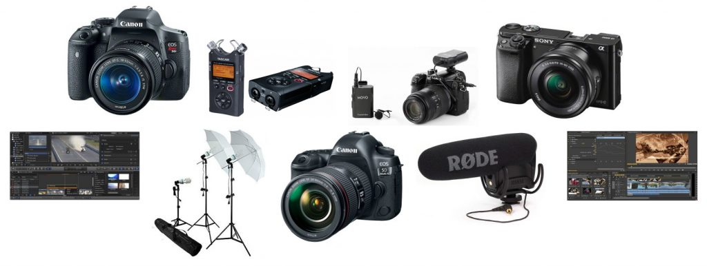 Our review of the best gear for vlogging
