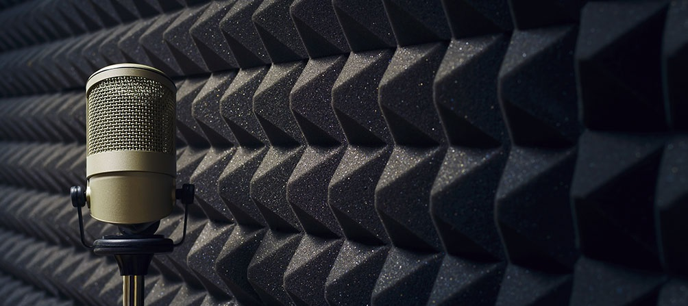 Rooms with sound proofing really do make a difference in recordings