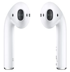 A true pair of wireless earbuds here by Apple