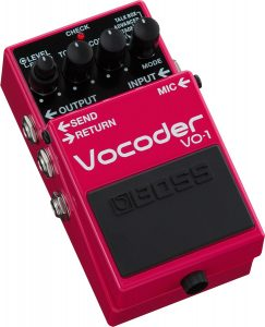 The best vocoder if you're in need of a pedal
