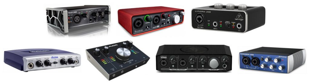 Our review on the best audio interfaces for beginners