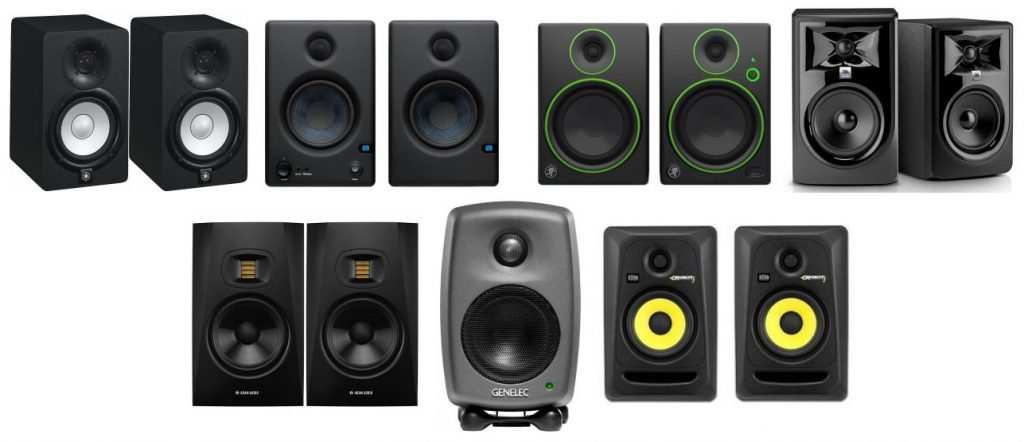 Here's a review on the best studio monitor speakers for beginners