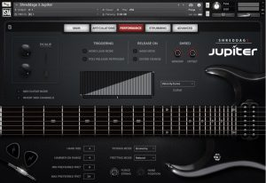 A nice electric guitar virtual instrument VST