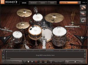 The best drums virtual instrument