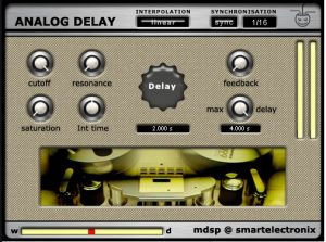 The last pick as the best delay FX plug-in software VST