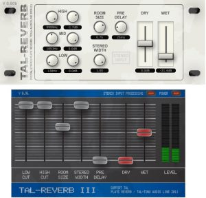 Two of our favorite TAL reverb FX