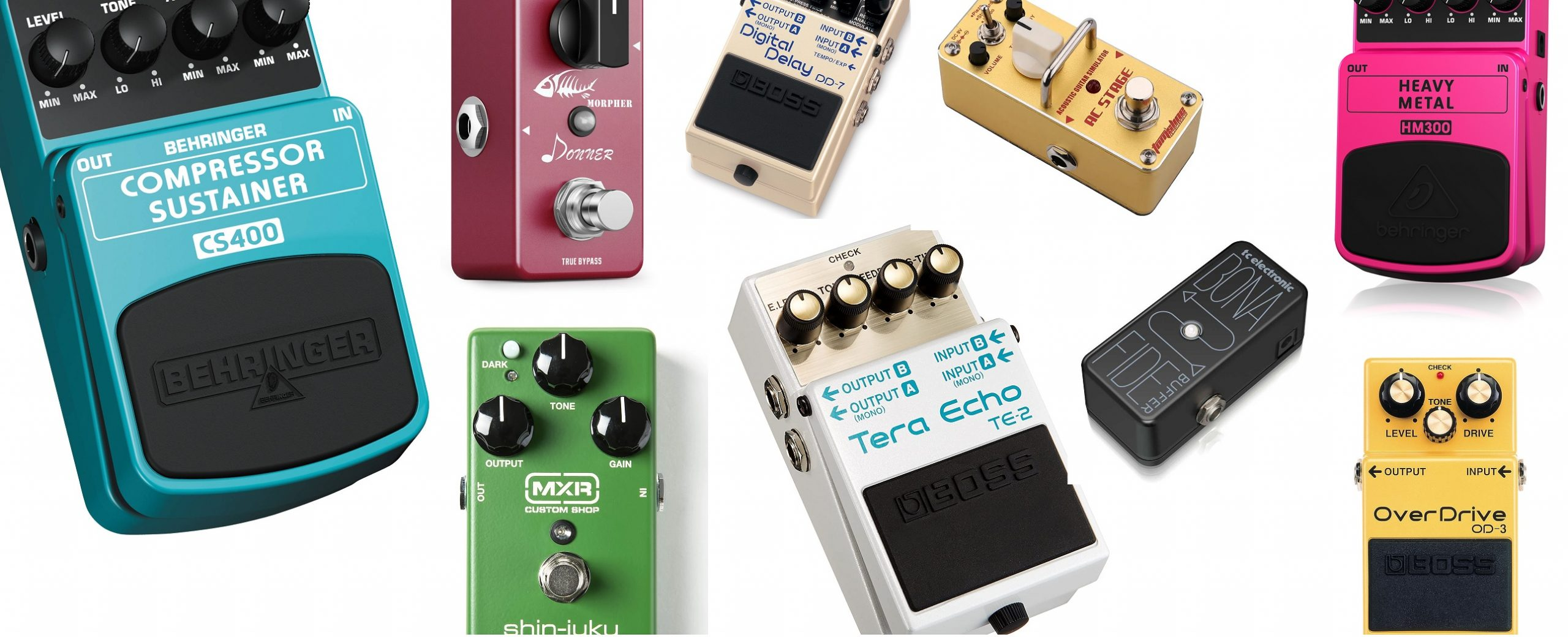 What are the Different Types of Guitar Pedals?