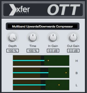 A popular compression plugin for EDM producers