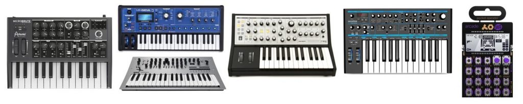 Our rendition of the best beginners synthesizers