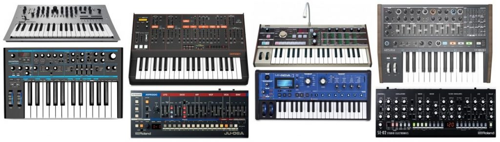 Here's a roundup of our favorite synths under 500 dollars