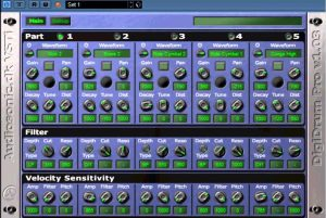 This is a favorite drums VST for free among many