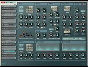 Attack is a popular one in the free drums plugin realm
