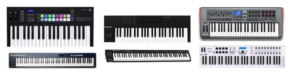 Our favorite picks as the best MIDI keyboard controllers under 300 dollars