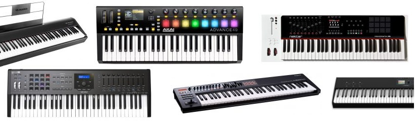 A list of some MIDI keyboards at half a grand