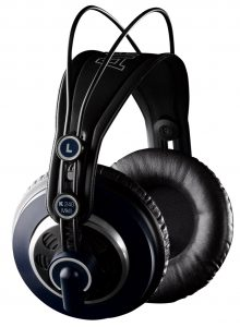 AKG's highly rated open-back pair