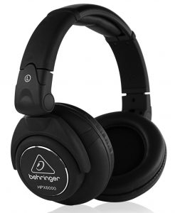 Behringer's studio headphones under fifty dollars