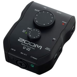 Zoom's near-famous audio interface here