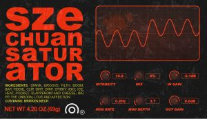 A nice dynamic saturation effects VST
